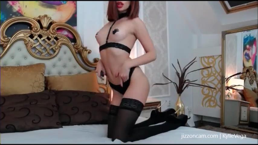 KylieVega flashes big boobs on cam